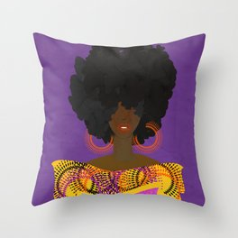 CULTURALLY SUPREME Throw Pillow