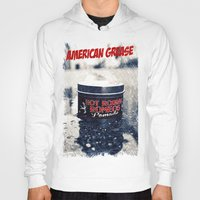 grease Hoodies featuring American grease by Vorona Photography