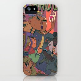 Rauque iPhone Case