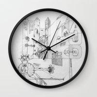 cross Wall Clocks featuring Cross by ℳajd