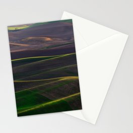 The Palouse Hills at Sunset Stationery Cards