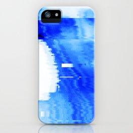 blue statue iPhone Case