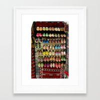 shoes Framed Art Prints featuring Shoes by Deesign