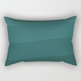 Six shades of turquoise. Rectangular Pillow