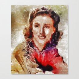Dame Vera Lynn, Music Legend Canvas Print