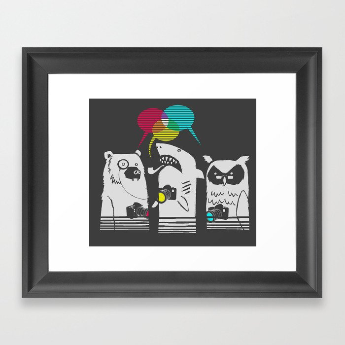 Color Theorists Framed Art Print