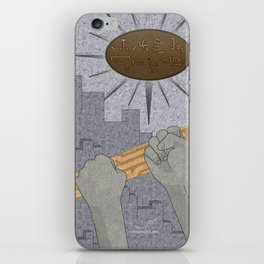 All Barriers Crumble and Fall - (Artifact Series) iPhone Skin
