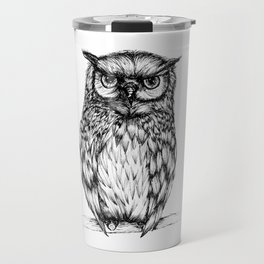 Inked Owl Travel Mug
