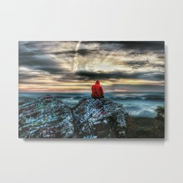 Sunrise Kid Metal Print