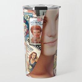 hair collage Travel Mug
