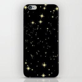 The Night Stars iPhone Skin