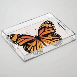 Monarch Butterfly Acrylic Tray
