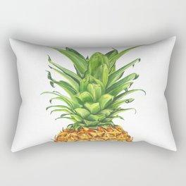 Watercolor Pineapple Rectangular Pillow
