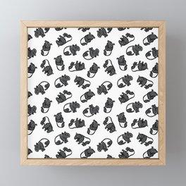 Malayan tapir Framed Mini Art Print