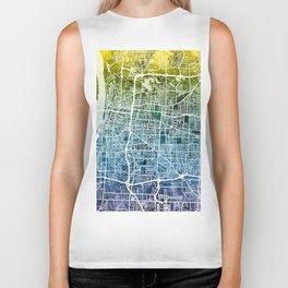 Memphis Tennessee City Map Biker Tank