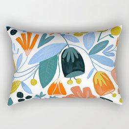 funny flower Rectangular Pillow