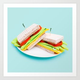 Kitchen Sandwich  Art Print