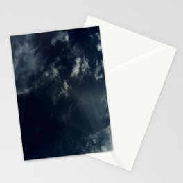 Cloud and sky 13 -cloud, sky, blue, positive,optimism Stationery Cards