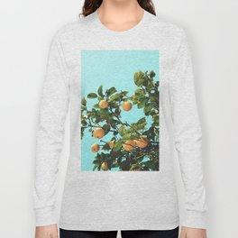 Summer Orange Tree Long Sleeve T-shirt
