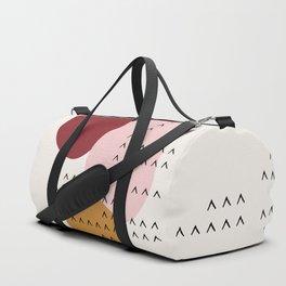 Big Shapes / Mountains Duffle Bag