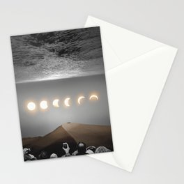 night time spectacle Stationery Cards