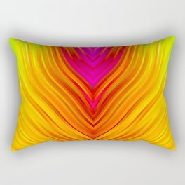 stripes wave pattern 3 s180 Rectangular Pillow