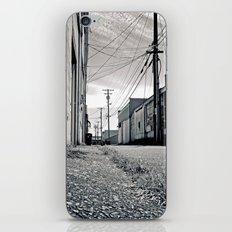 Old urban alley iPhone & iPod Skin
