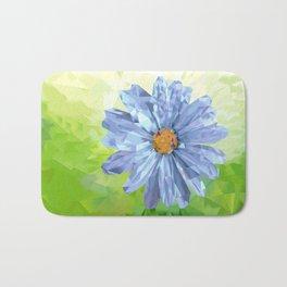 Crystal Flower Bath Mat