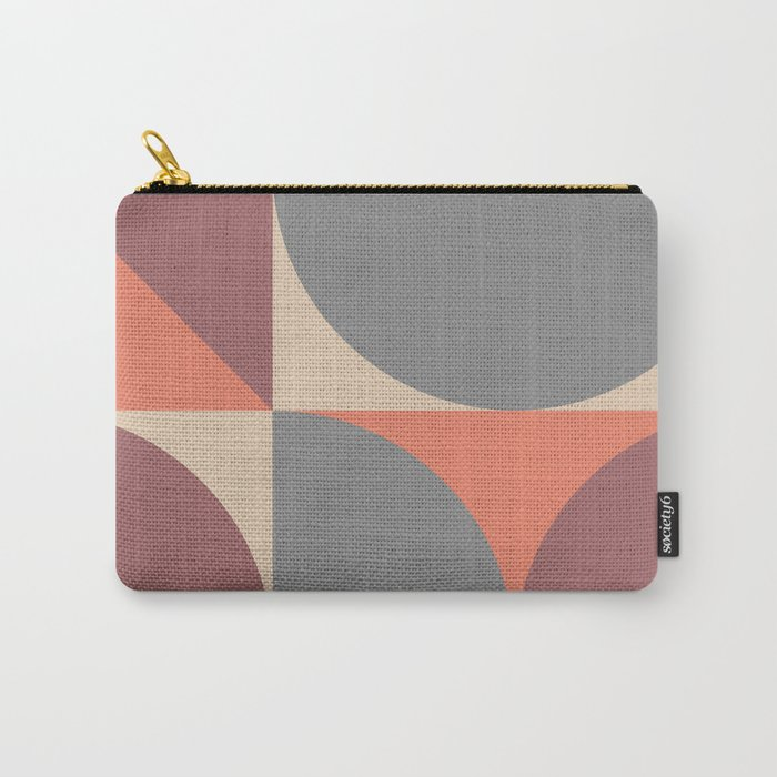 Mid Century Modern Geometric Abstract 238 Carry-All Pouch