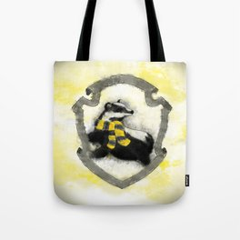 Hufflepuff Splatter Tote Bag