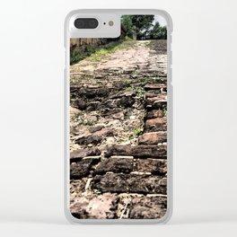Broken Path Clear iPhone Case
