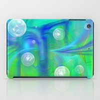 bubbles iPad Cases featuring Bubbles by Roger Wedegis