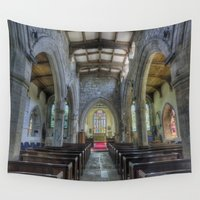 faith Wall Tapestries featuring Unspoken Faith by Ian Mitchell