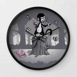 Grandoise delusions Wall Clock