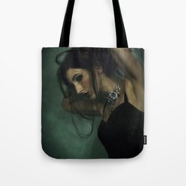 Draped Over a Feeling Tote Bag