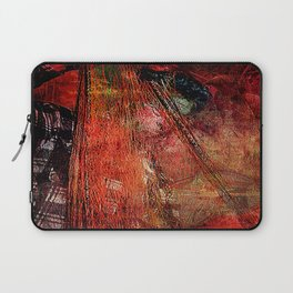 Sicilian Fisherman (This Artwork is a collaboration with the talented artist design  Ganech Joe) Laptop Sleeve