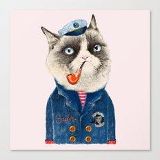 Sailor Cat VII Canvas Print