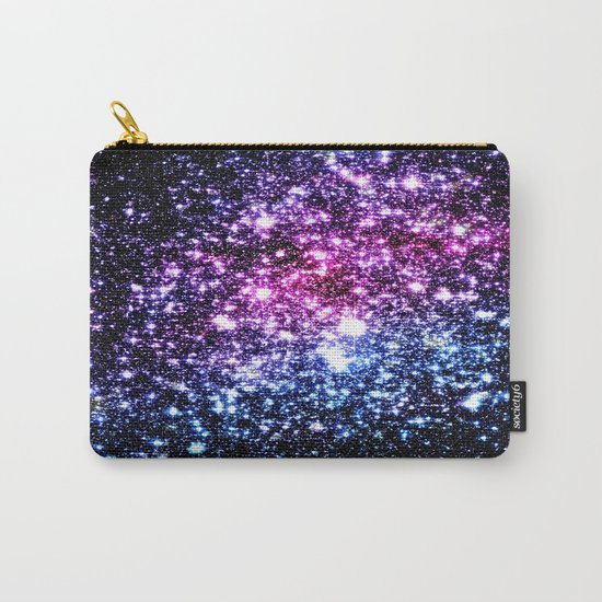 Cool Tone Galaxy Stars Carry-All Pouch