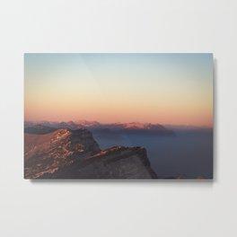 Jura Mountains, France Metal Print