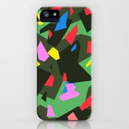 Green\Red\Blue\Black\Grey\Pink Geometric camo iPhone Case
