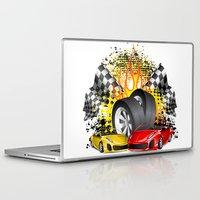 cars Laptop & iPad Skins featuring Cars by ismailburc