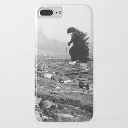 Old Time Godzilla iPhone Case