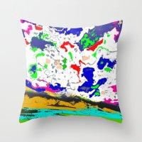 zodiac Throw Pillows featuring Zodiac by lookiz