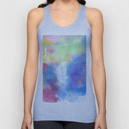 light watercolor Unisex Tank Top