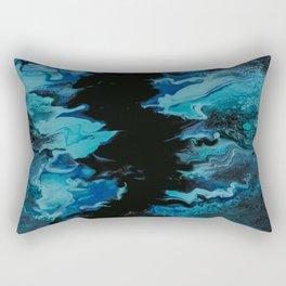 Blue abyss Rectangular Pillow