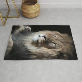 Portrait of a King Rug
