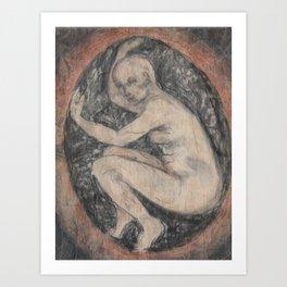 All Flesh:  Revisiting the Egg Art Print