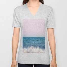 Ocean Wave Dream #1#wall #decor #art #society6 Unisex V-Neck