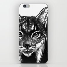 Lynx bobcat iPhone & iPod Skin