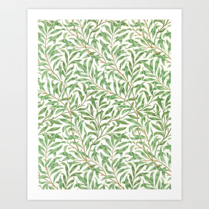 Willow Bough Printed Wallpaper William Morris 1887 Art Print